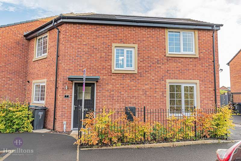 3 Bedrooms Semi Detached House for sale in Ackers Fold, Leigh , Greater Manchester. WN7 4BQ