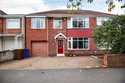 4 Bedrooms Semi Detached House for sale in Kirkby Avenue, Sheffield, South Yorkshire