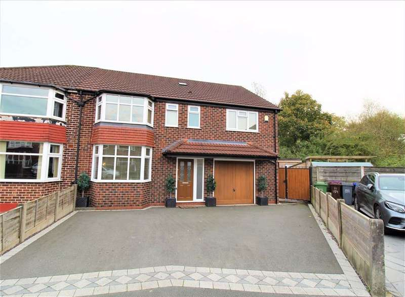 5 Bedrooms Semi Detached House for sale in Morningside Drive, Manchester