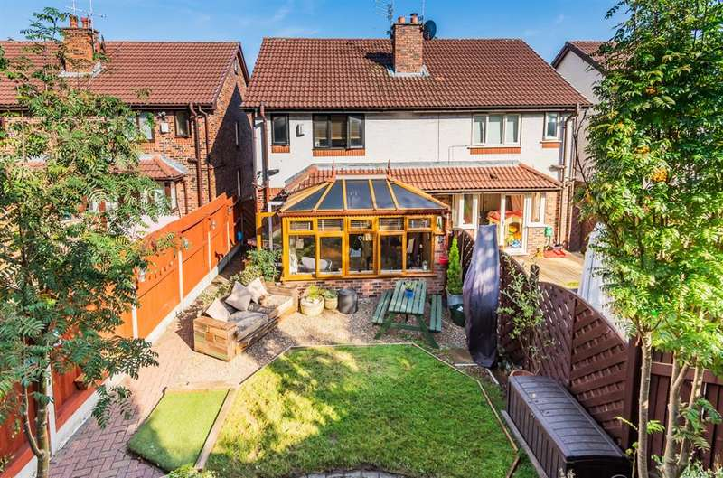 4 Bedrooms Town House for sale in Border Brook Lane, Worsley, Manchester, M28 1XJ
