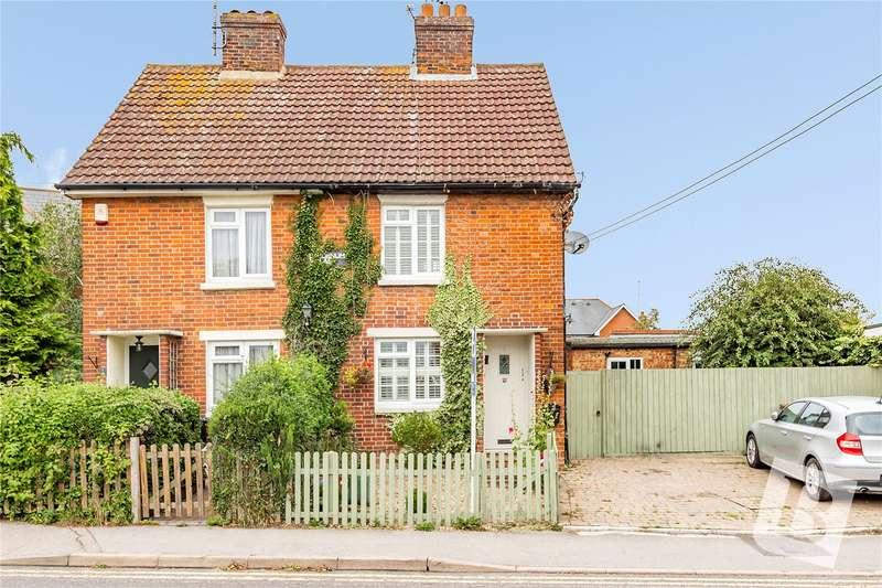2 Bedrooms Semi Detached House for sale in Downham Road, Ramsden Heath, Essex, CM11