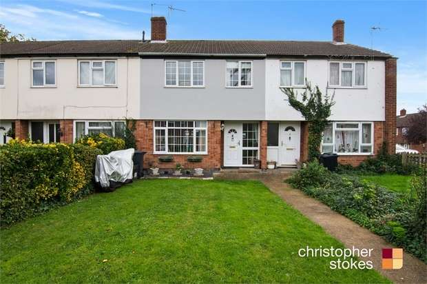 3 Bedrooms Terraced House for sale in Downfield Road, Cheshunt, Hertfordshire