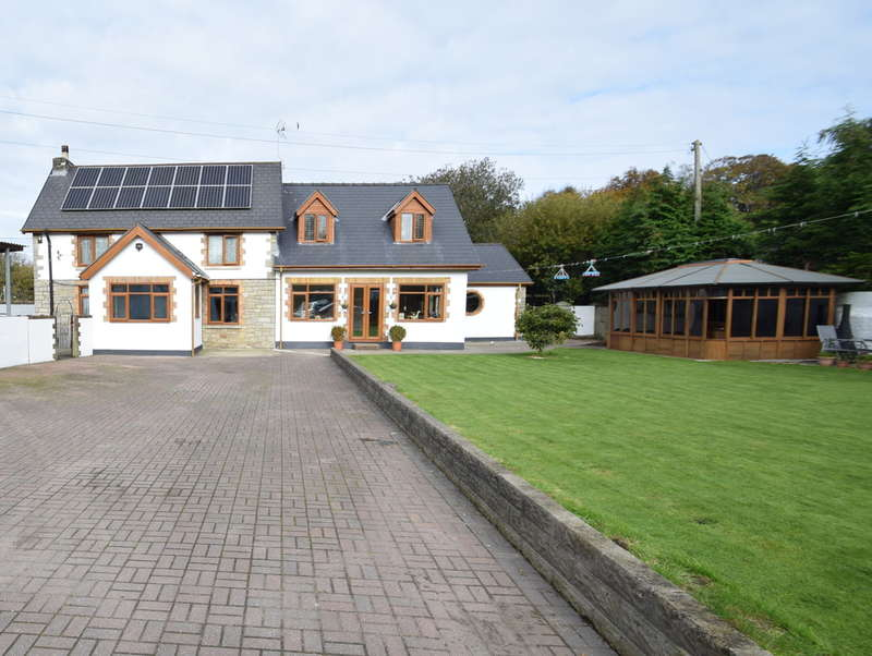 6 Bedrooms House for sale in Glanrhyd Farm, Pen-Y-Fai, Bridgend, Bridgend, Bridgend County Borough, CF31 4LL