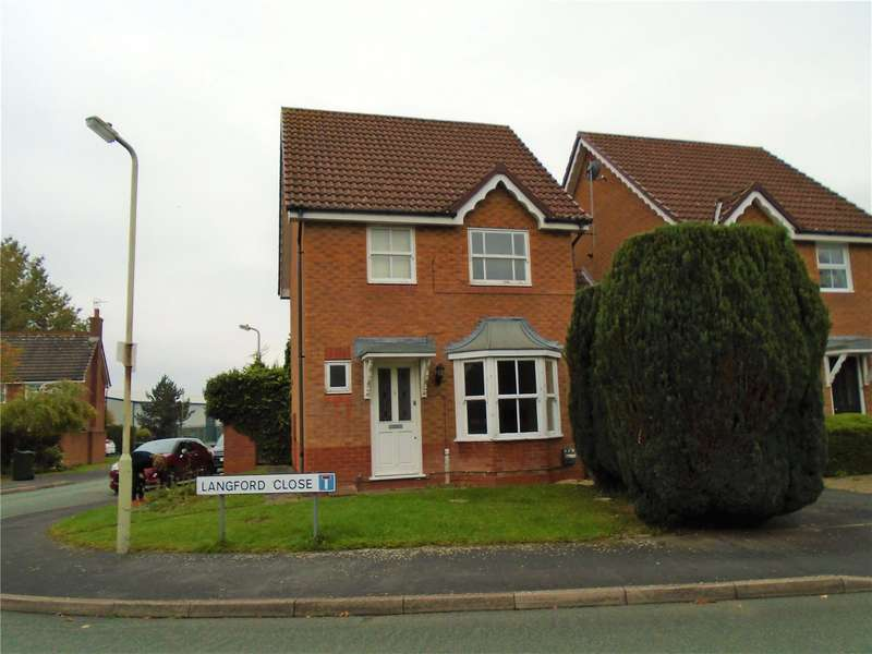 3 Bedrooms Detached House for rent in 1 Langford Close, Ludlow, Shropshire, SY8 1UF