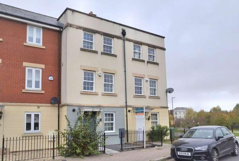 4 Bedrooms Terraced House for sale in Gambet Road, Brockworth, Gloucester, Gloucestershire, GL3