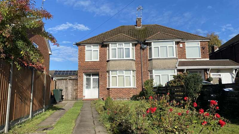 3 Bedrooms Semi Detached House for rent in High Street, Keresley, Coventry