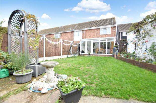 2 Bedrooms End Of Terrace House for sale in Salvia Close, Clacton-on-Sea, Essex