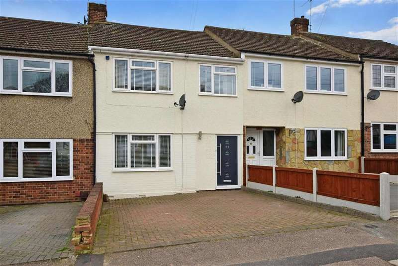 3 Bedrooms Terraced House for sale in Passingham Avenue, , Billericay, Essex