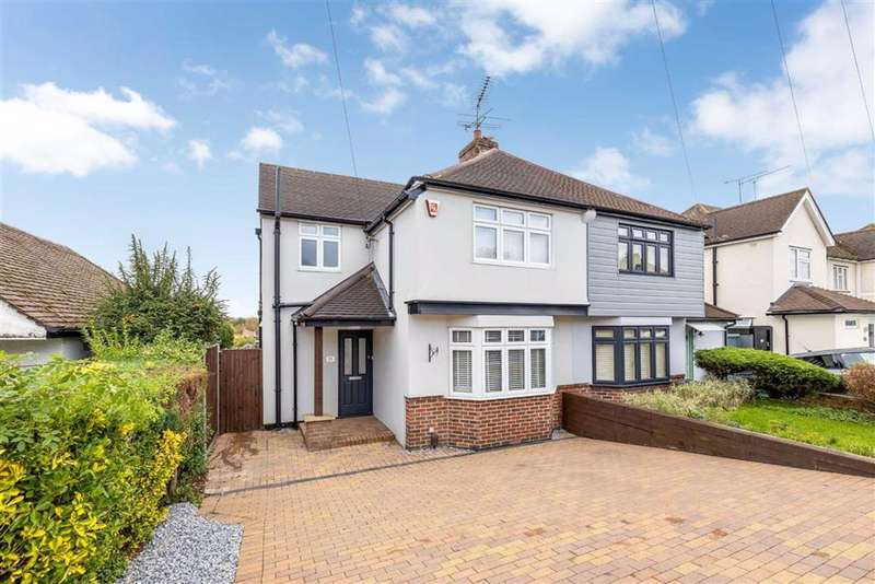 3 Bedrooms Semi Detached House for sale in Austin Road, Orpington, Kent