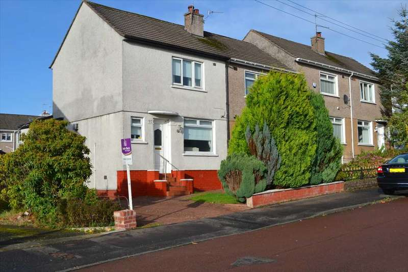 2 Bedrooms End Of Terrace House for sale in Tiverton Avenue, Mount Vernon, Glasgow