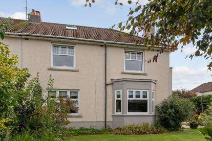 4 Bedrooms Semi Detached House for sale in Burnside Road, Rutherglen