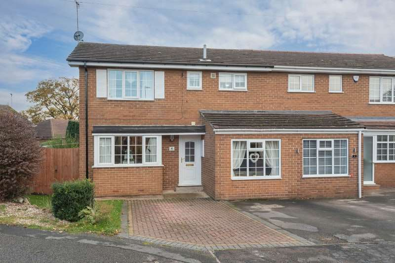 3 Bedrooms Semi Detached House for sale in Eaton Square, Doncaster, South Yorkshire, DN5
