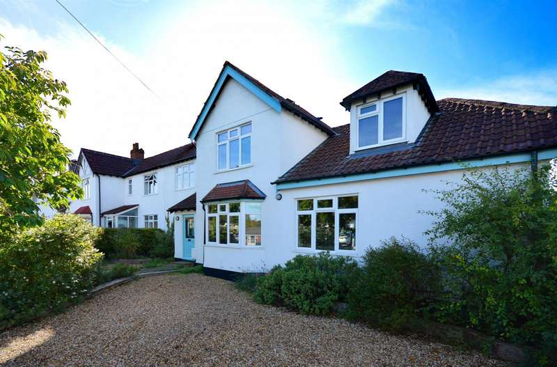 4 Bedrooms Semi Detached House for sale in Lansdown Road, Saltford