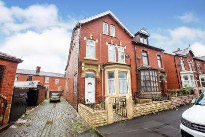 5 Bedrooms End Of Terrace House for sale in Lancaster Place, Blackburn, Lancashire, ., BB2