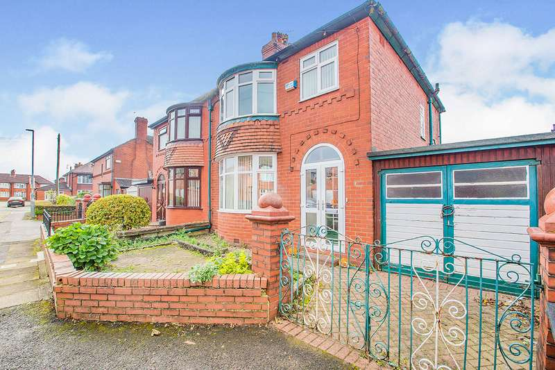 3 Bedrooms Semi Detached House for sale in Orwell Avenue, Denton, Manchester, Greater Manchester, M34