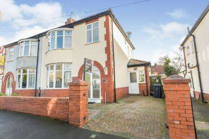 3 Bedrooms Semi Detached House for sale in Methuen Avenue, Fulwood, Preston, Lancashire, PR2