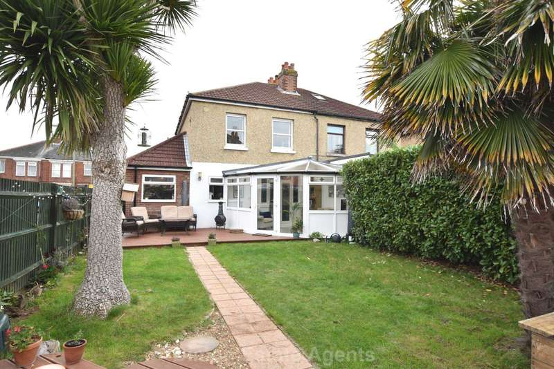 3 Bedrooms Semi Detached House for sale in Bay Road, Alverstoke