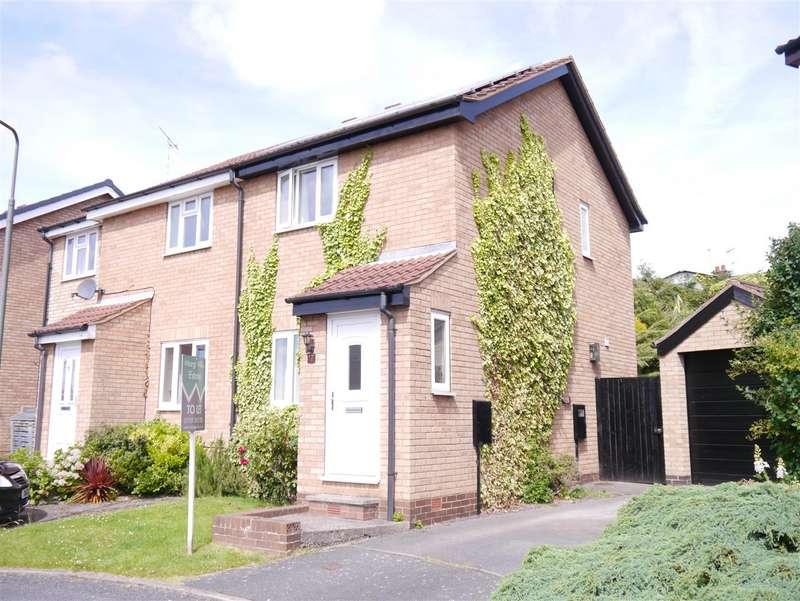 2 Bedrooms Semi Detached House for rent in Brassington Close, West Hallam, Ilkeston