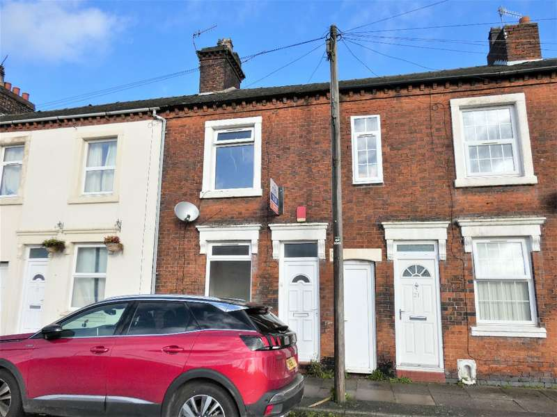 2 Bedrooms Terraced House for rent in Chatham Street, Shelton, Shelton, ST1 4NY