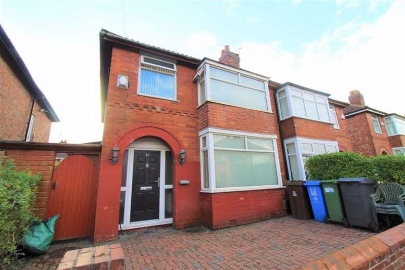 3 Bedrooms Semi Detached House for sale in Alderdale Drive, Droylsden, Manchester