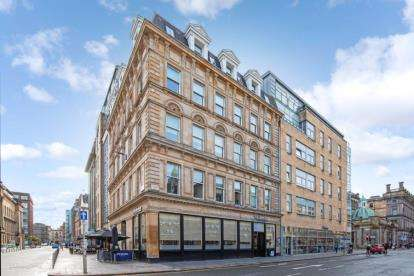 2 Bedrooms Flat for sale in Hutcheson Street, Merchant City, Glasgow