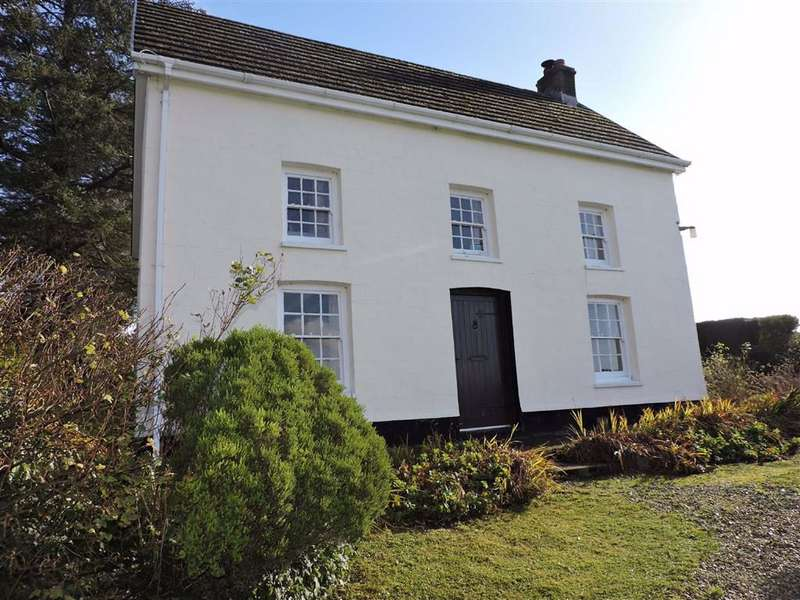 4 Bedrooms Detached House for sale in Login, Whitland, Carmarthenshire
