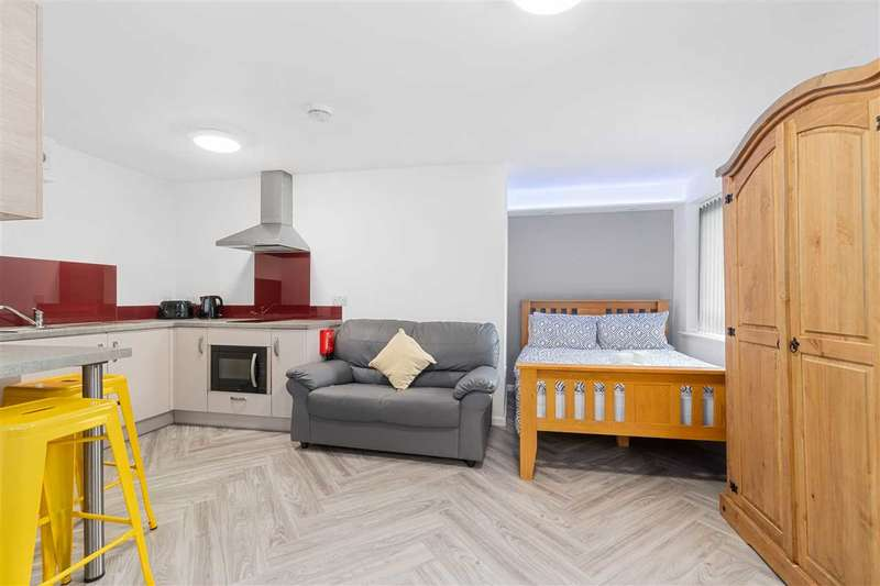 1 Bedroom Apartment Flat for rent in Emmanuel House, Studio 4, 179 North Road West, Plymouth