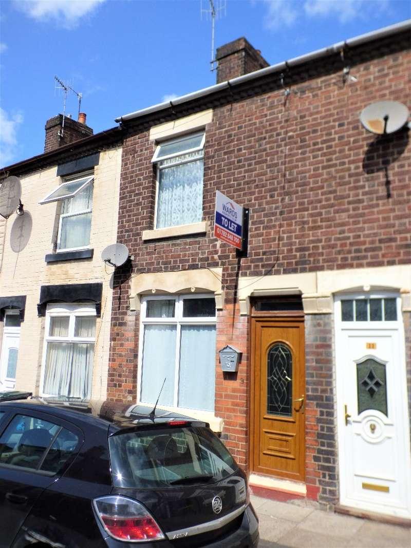 2 Bedrooms Terraced House for rent in Caulton Street, Burslem, Stoke on Trent, ST6 4ER