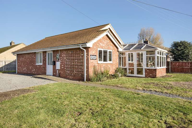 2 Bedrooms Detached Bungalow for sale in North Road, Tattershall Thorpe, LN4 4PQ