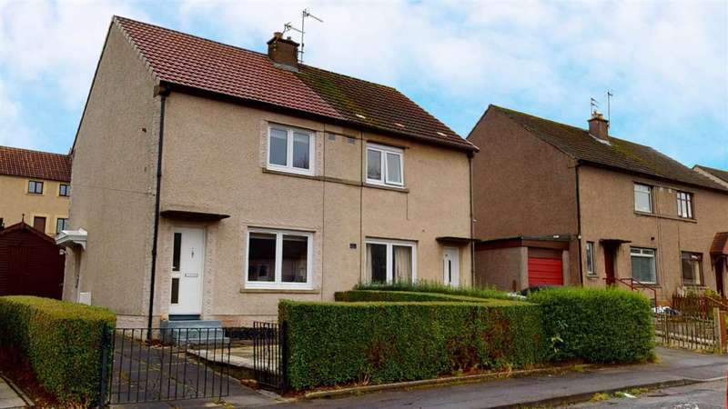 2 Bedrooms Semi-detached Villa House for sale in Clunie Road, Dunfermline