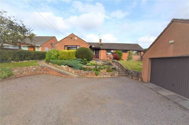 3 Bedrooms Detached Bungalow for sale in Nailsbourne, Taunton, Somerset, TA2