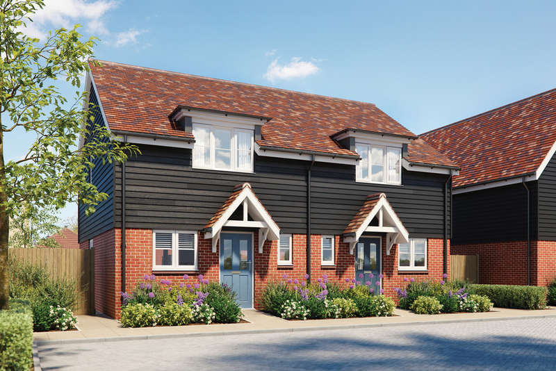 2 Bedrooms Semi Detached House for sale in St Laurence View, Ridgewell, Essex