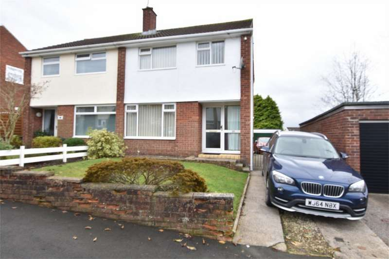 3 Bedrooms Semi Detached House for sale in Maple Close, The Bryn, Pontllanfraith, Blackwood, Caerphilly
