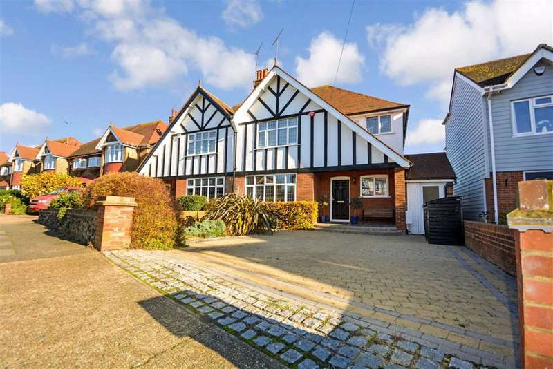 4 Bedrooms Semi Detached House for sale in Carlton Avenue, Broadstairs, Kent