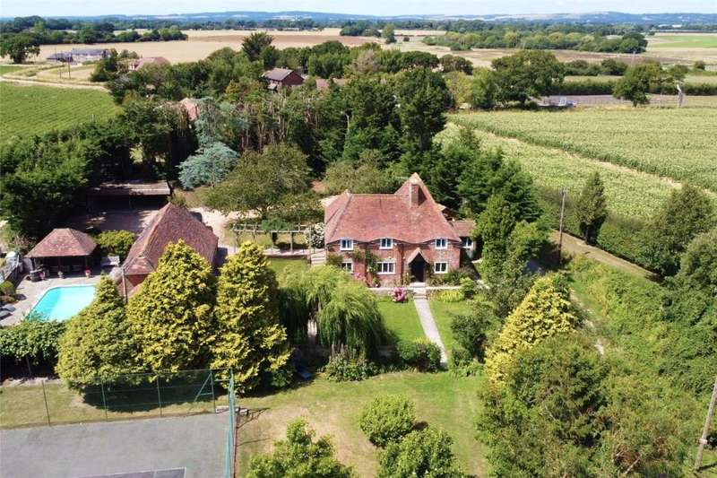 7 Bedrooms Detached House for sale in Bowley Lane, South Mundham, Chichester, West Sussex, PO20