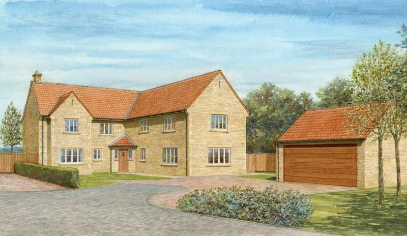 5 Bedrooms Detached House for sale in Plot 5 - Oak House, The Wood Yard, Stamford Road, Colsterworth
