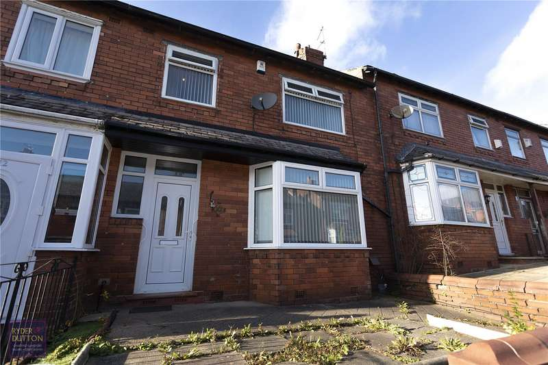3 Bedrooms Terraced House for sale in Cheviot Avenue, Coppice, Oldham, OL8