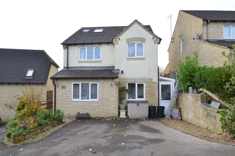 4 Bedrooms Detached House for sale in Geralds Way, Chalford, Stroud, GL6