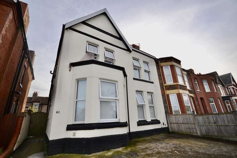 1 Bedroom Studio Flat for rent in Park Road East, Birkenhead, Birkenhead, CH41