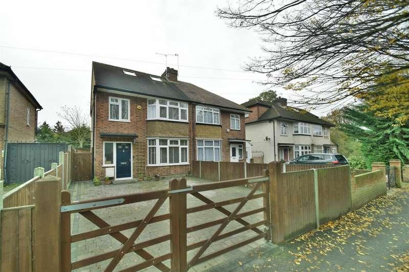 4 Bedrooms Semi Detached House for rent in Pield Heath Road, Hillingdon, UB8