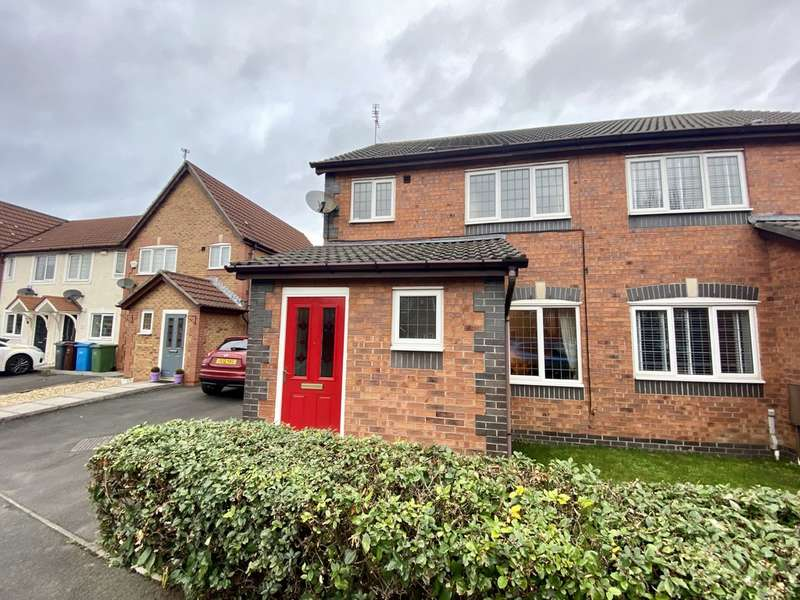 3 Bedrooms Semi Detached House for sale in Northumberland Way, Sharston