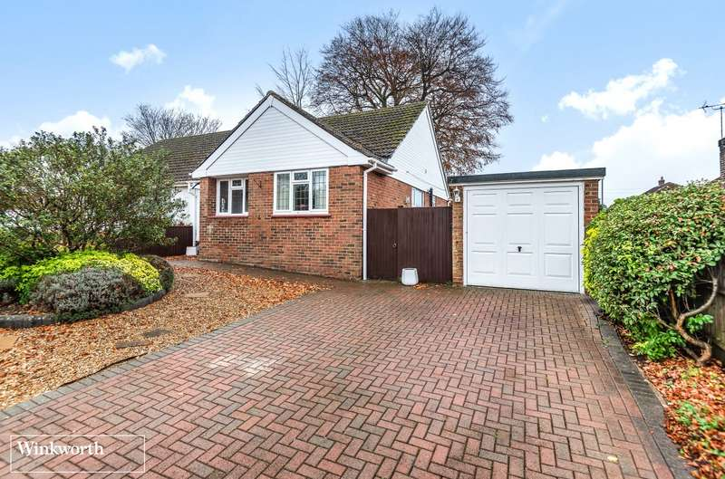 2 Bedrooms Semi Detached Bungalow for sale in Foyle Park, Basingstoke, RG21