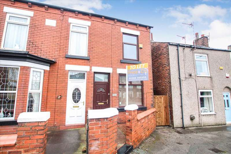 2 Bedrooms Terraced House for rent in Church Street, Westhoughton