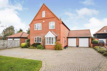 4 Bedrooms Detached House for sale in Lessingham, Norwich, Norfolk