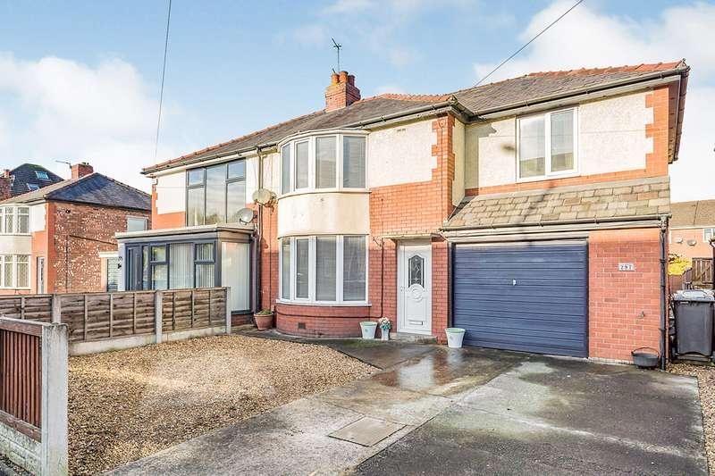 4 Bedrooms Semi Detached House for sale in Brownedge Road, Bamber Bridge, Preston, Lancashire, PR5