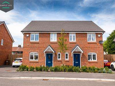3 Bedrooms Semi Detached House for rent in Trinity Close, Trench