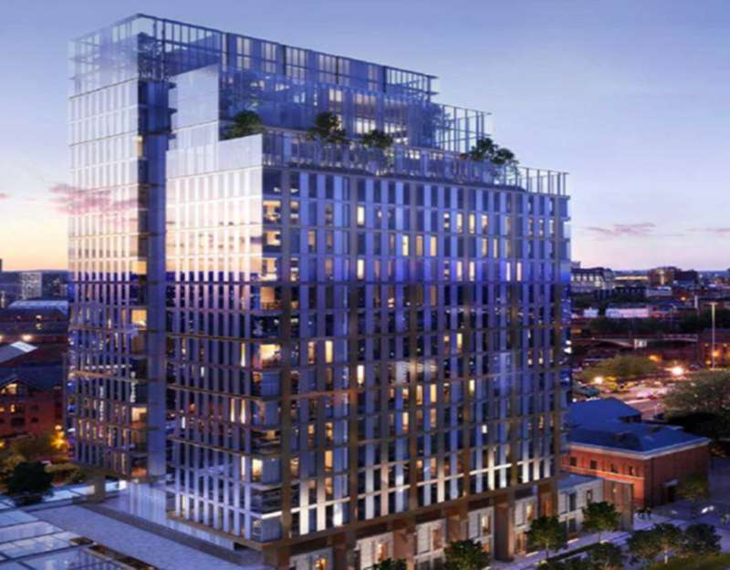 2 Bedrooms Apartment Flat for sale in Crown Street, Manchester, M15