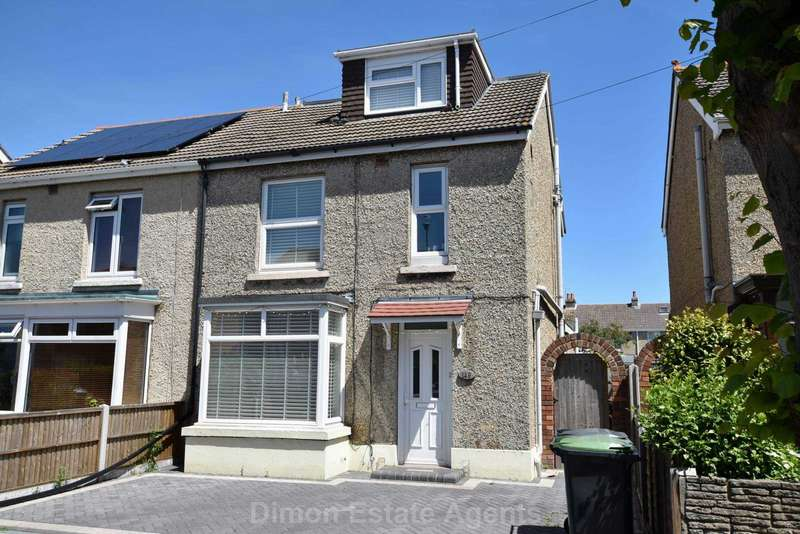 4 Bedrooms Semi Detached House for sale in Anns Hill Road, Gosport