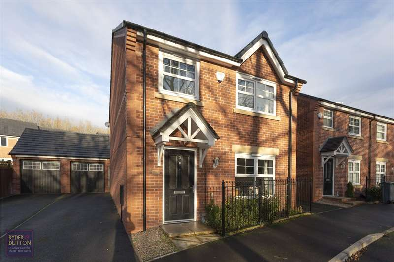 4 Bedrooms Detached House for sale in Red Cedar Close, Blackley, Manchester, M9