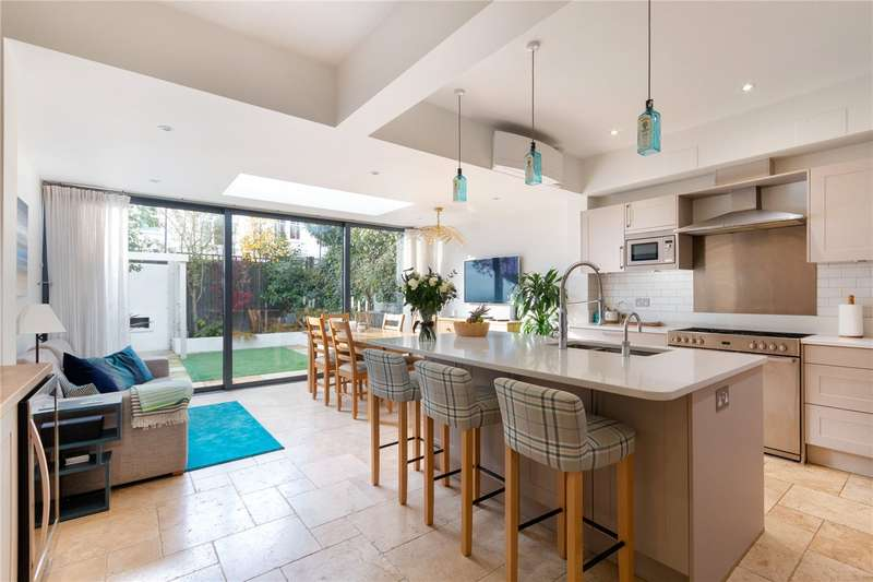 4 Bedrooms Terraced House for sale in Mandrake Road, London, SW17